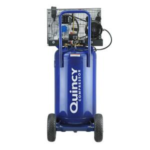Quincy Compressor Q12124VPQ Portable Single-Stage 24 Gallon Air Compressor, 2HP, Vertical, 115V 1-Phase