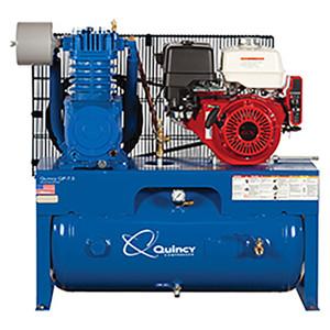 Quincy Compressor G213H30HCB QT Two-Stage 30 Gallon Air Compressor, 13 HP Honda Motor, Horizontal