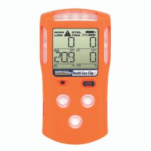 Gas Clip Technologies MGC Detector w/Pellistor Tech, 4 Gas (H2S, O2, CO & LEL), 25 Hour Run Time