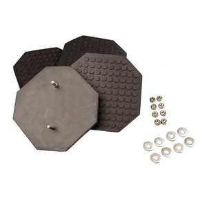 SVI Inc. Replacement Rubber Arm Pad Kit for Challenger Lift, 4 Pads