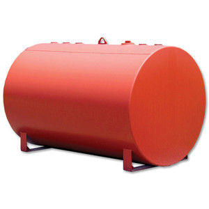 JME Tanks AU-270-12P 273 Gallon 12 Gauge Single Wall Obround Utility Tank