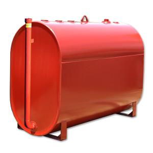 JME Tanks AUDW-275-12P 262 Gallon 12 Gauge Double Wall Obround Utility Tank