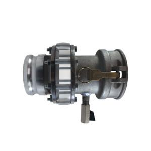 JME Aluminum Camlock Sight Glass Sampler for Ethanol/Biodiesel