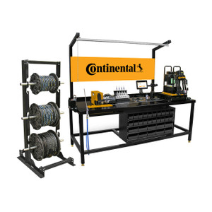 Continental PC125-RCD Hose Assembly Station, Shop in a Box