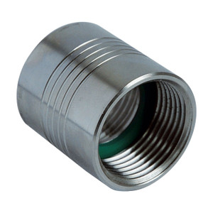 PIUSI F16074000 1 in. FNPT x 1 in. FNPT Stainless Steel Socket Adapter