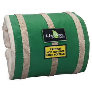 Unitherm UniVest Up to 2 in. Dia. Pipe Insulation Jacket w/3 Straps