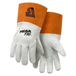 Steiner Ind. 0230 MegaTIG™ Premium Kidskin TIG Welding Gloves w/Long Cuff, Foam Lined