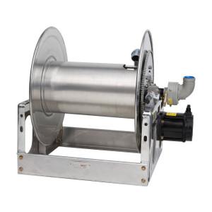 Hannay Reels Super Booster® SBEBPFF16-30-31 Aluminum Reel for Large Booster/Collapsible Hose, 12V DC Electric Rewind, Reel Only