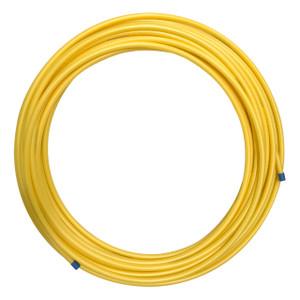 Oil Creek Plastics PE-2708 1 1/4 in. x 150 ft. Polyethylene Medium Density Yellow Gas Pipe, 11 SDR