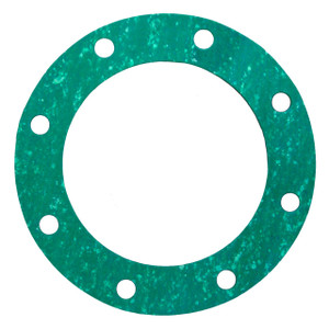 4 in. TTMA Fiber Gasket, 1/8 in. Thick, Green