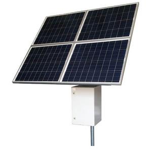 Tycon Systems RemotePro® 340W Solar, 12/24V 200Ah Batt, 20A MPPT Controller Remote Power Solar System, Aluminum Enclosure