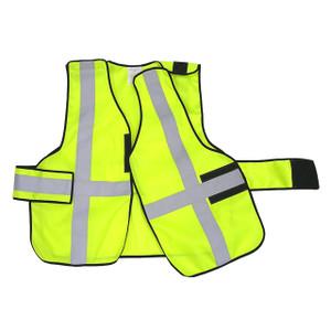 343 Fire V12-EZ Economy FR 5-Point-Breakaway Vests, Safety Yellow