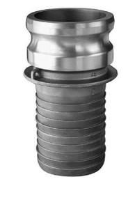 JME 4 in. Aluminum Part E Male Adapter X Hose Shank