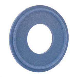 Rubber Fab Detectomer® Metal Detectable/X-Ray Inspectable Tri-Clamp® Type I Tuf-Steel® Gaskets, Blue