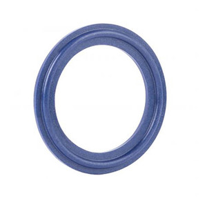 Rubber Fab Detectomer® Metal Detectable/X-Ray Inspectable Tri-Clamp® Type I Buna Gaskets, Blue