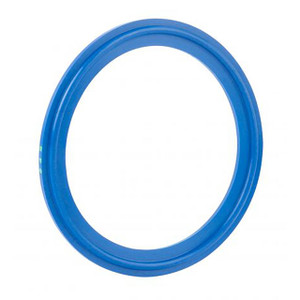 Rubber Fab Detectomer® Metal Detectable/X-Ray Inspectable Tri-Clamp® Type I EPDM Gaskets, Blue