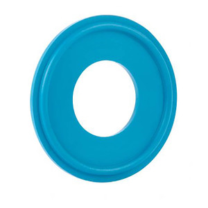 Rubber Fab Detectomer® Metal Detectable/X-Ray Inspectable Tri-Clamp® Type I FKM Gaskets, Blue