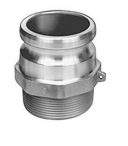 JME 1 in. Stainless Part F Male NPT x Male Adapter