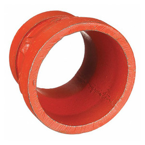 Anvil FIG 7072 Gruvlok® Grooved-End Gr x Gr Concentric Reducers, Ductile Iron Ptd. Orange