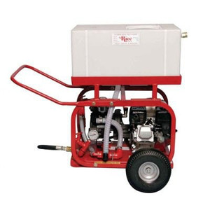 Rice Hydro Inc. DP-3B Hydrostatic Test Diaphragm Pump- Briggs & Stratton Engine w/Wheel & Handle Kit and 20 Gal Pressured Tank