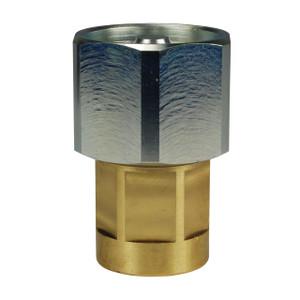 Dixon W-Series Hydraulic Brass Wingstyle Interchange Hex-Nut Female Coupler