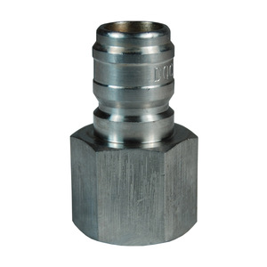 Dixon E-Series Hydraulic 303 Stainless Steel Straight Through Interchange Female Plug