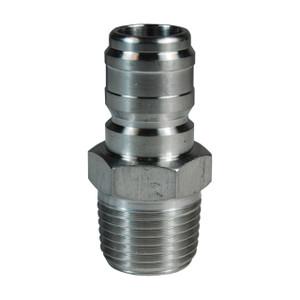 Dixon E-Series Hydraulic 303 Stainless Steel Straight Through Interchange Male Plug