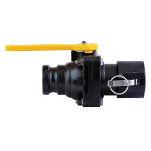 TerreMax Smart Connect Bolted Ball Valves, 100 PSI, Male Cam Adapter x Female Cam Coupler