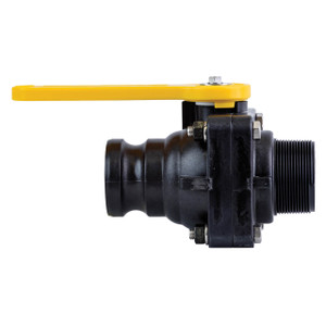 TerreMax Bolted Ball Valves, 100 PSI, Male NPT X Male Cam Adapter