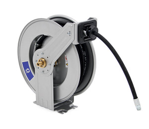 Graco LDX Series 1/2 in. x 50 ft. Spring Driven Oil Hose Reel - Hose Included