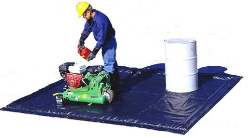 Ultra-Containment Berm Foam Wall Model - Foam Wall Ultra-Containment Berm - 5 ft. 10 in. x 7 ft.  x 2 in. - 25 gallons