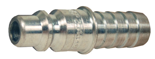 Dixon Air Chief Steel Industrial Quick-Connect Plug 3/8 in. Hose Barbx 1/2 in. Body
