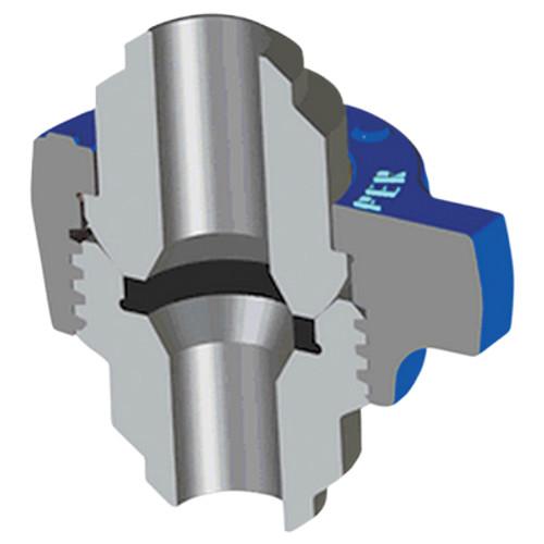 Kemper Valve Figure 1502B Butt-Weld Hammer Unions - XXH - 1 in.