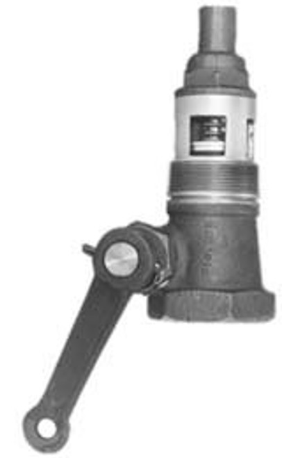 Morrison Bros. 1 1/2 in. Straight Style Emergency Valve w/ Teflon Disc