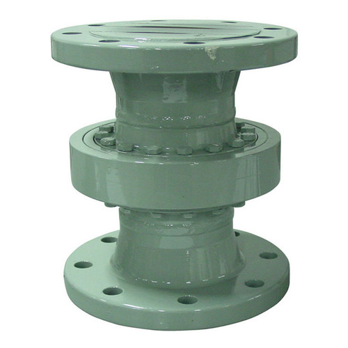 Emco Wheaton D2000 4 in. Style 20 Carbon Steel Swivel Joint w/ Standard Temp. Bearings, 150# Flanged Connections & Viton Seal - 10 in.