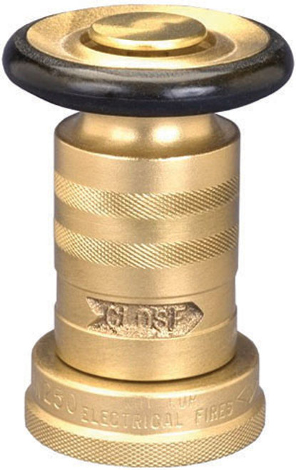 Dixon 1 1/2 in. NH(NST) Heavy-Duty Brass Industrial Fog Nozzle