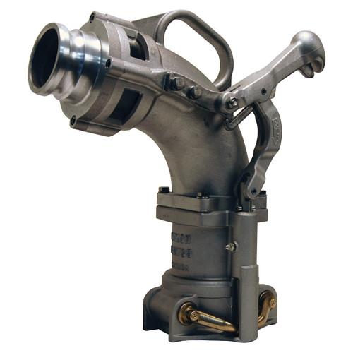 Dixon Bayco Self-Locking Drop Elbow w/ 3 in. Adapter - 17 3/4 in. H