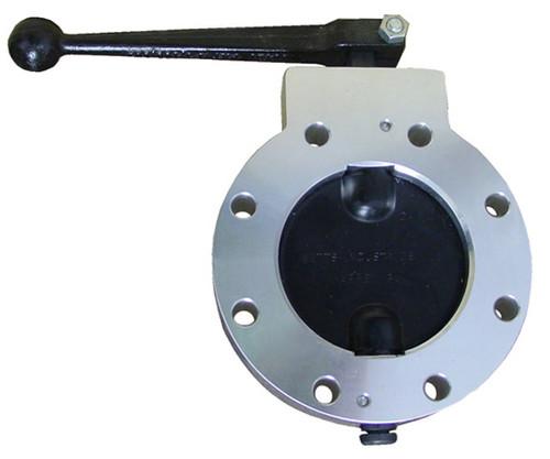 Betts WD Series 4 in.  Aluminum Wet-R-Dri Detent Valve w/Buna-N Seals & Disc, TTMA Flange