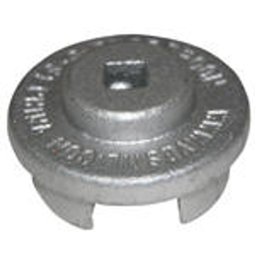 Vestil Drum Bung Socket - Bright Zinc Plated Cast Steel - 3/8 in. Drive
