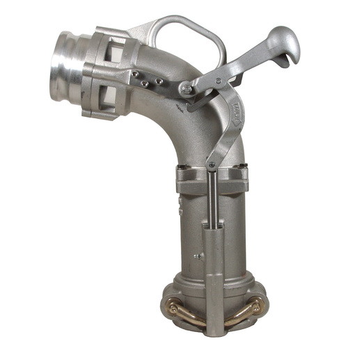 Dixon Bayco Self-Locking Drop Elbow w/ 3 in. Adapter - 21 in. H