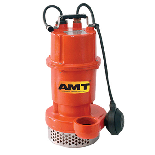 AMT Submersible Drainage/Sump Utility Pump - 47 GPM - 1/2 - 1 1/2 in. - Plastic - Vortex