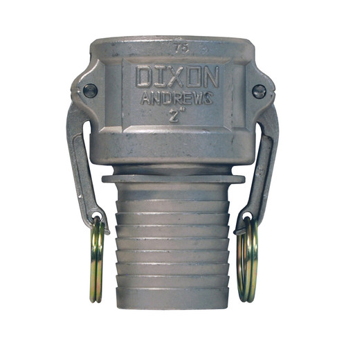 Dixon 2 in. Stainless Steel Part C Couplers w/ Notched NOS Shank