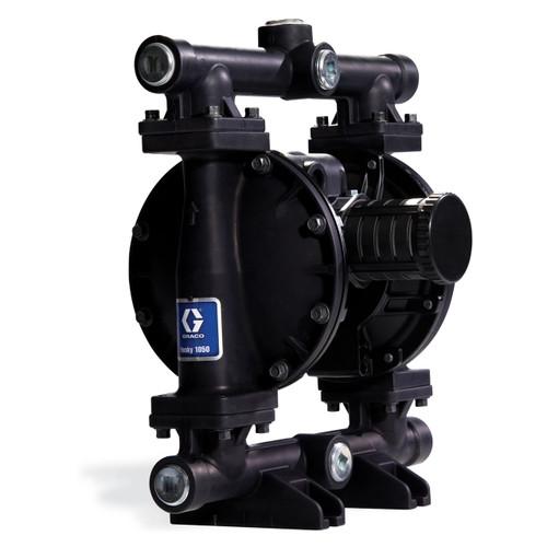 Husky Aluminum 1050 Air Diaphragm Pump w/ Acetal Seats and PTFE Diaphragms
