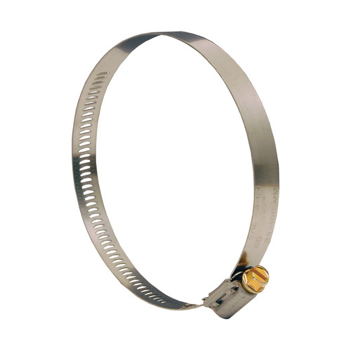 Dixon Style HS Worm Gear Clamp - 3-36/64 in. to 4-32/64 in. Hose OD