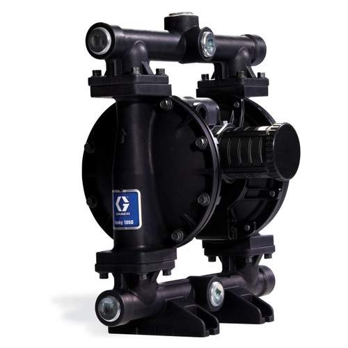 Graco Husky 1050 Aluminum Air Diaphragm Pump w/ Santoprene Seats & Diaphragms