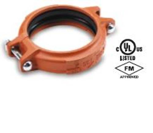 Smith Cooper 1 1/2 in. Lightweight Rigid Coupling w/ Triple Seal Gasket