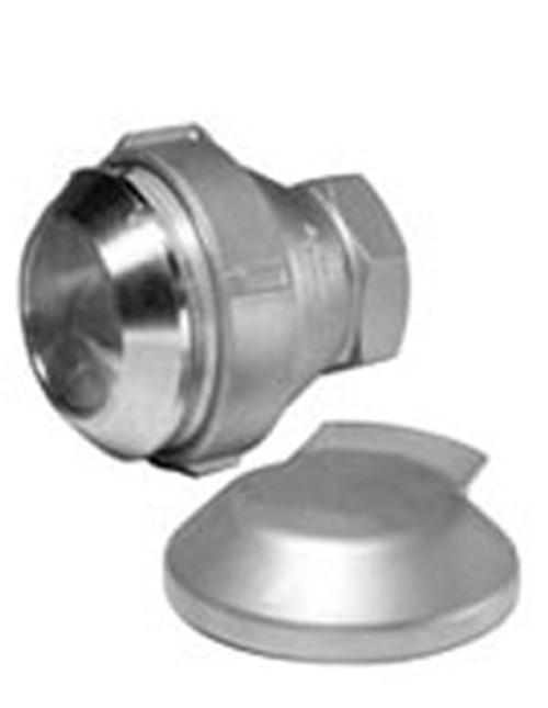 OPW 1 in. Female NPT Stainless Steel Drylok Adapter w/ GFLT Seals