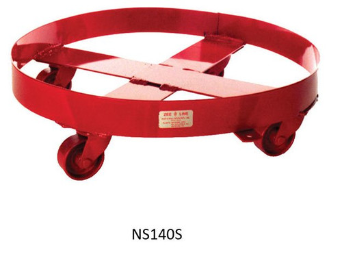 National Spencer 55 Gallon Drum Dolly with Steel Casters