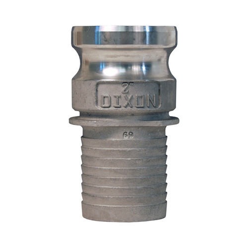 Dixon 2 in. Stainless Steel Part E Adapters w/ Notched NOS Shank