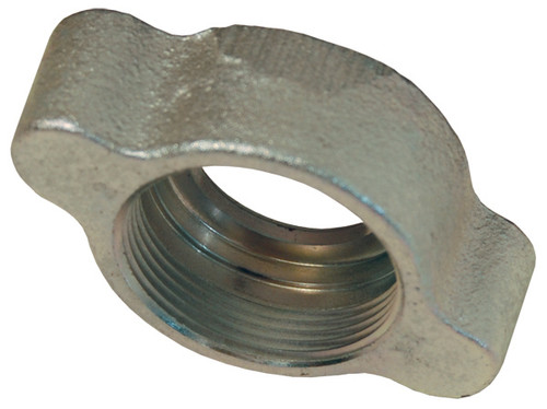 Dixon GJ Boss Ground Joint Seal Wing Nuts - 1 1/4 in. x 1 1/2 in. Stem Size x Female Wing Nut Thread